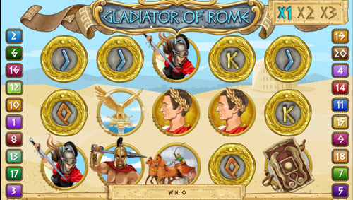 Rome Slot Machine - Play this Game for Free Online