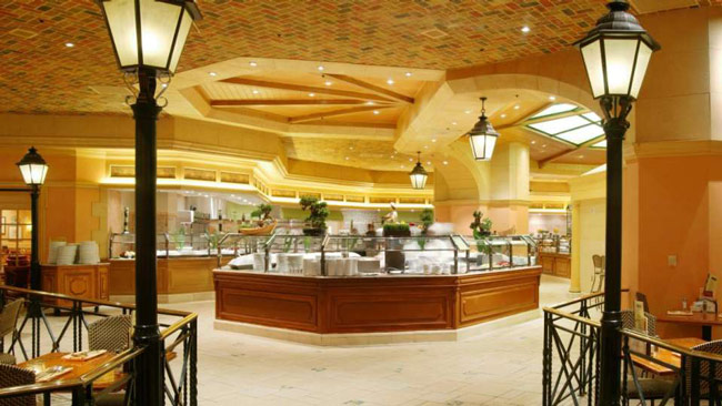 Bellagio hotel and casino dining babysitting in las vegas casino