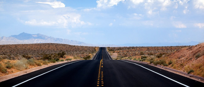 Desert, Road, Nevada
