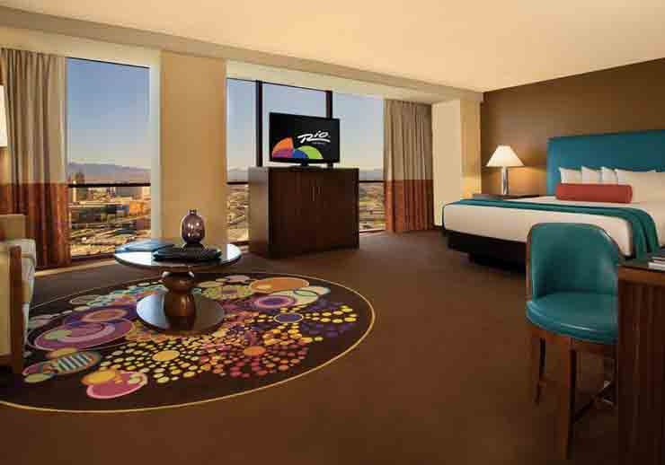 Luxury suite - Las Vegas Rio All Suite Casino & Hotel