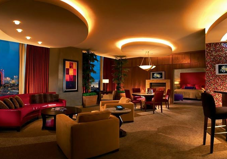 The Celebrity suite - Las Vegas Palms Casino & Hotel