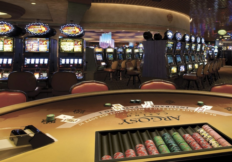 How to use our map of casinos in Missouri