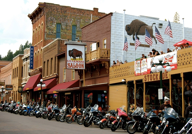Deadwood Buffalo Bodega Casino & Bullock Hotel