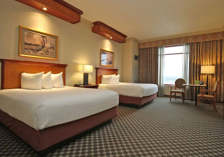 Luxury double queen - Joliet Harrah's Casino & Hotel