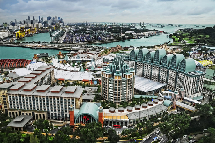Resort World Sentosa Singapour