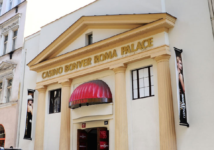 Bonver Roma Palace Casino Prague