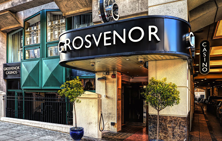 grosvenor casino the gloucester london