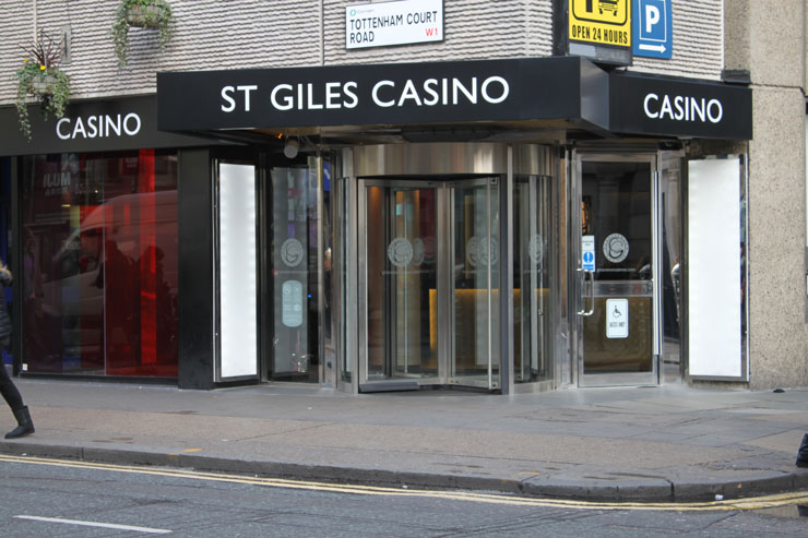 Grosvenor St Giles Casino London