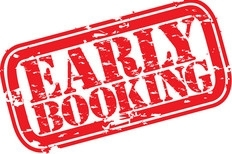 10% OFF for Early Bookings