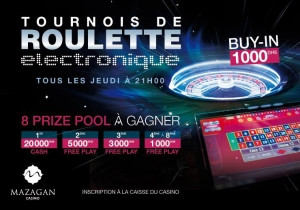 Electronic Roulette Tournaments