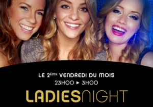 Ladies Night the 2nd Friday of the month.