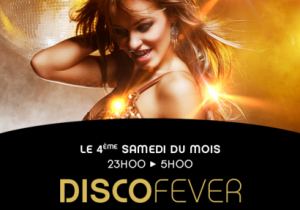 Disco evenings - 4th Saturday of the month